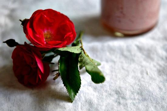 Strawberry Rose Lassi from www.healthygreenkitchen.com