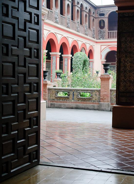 Lima courtyard // Healthy Green Kitchen