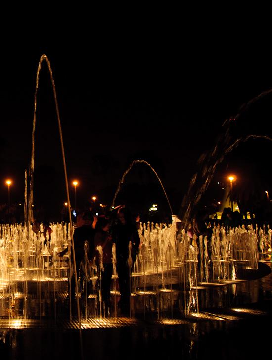 Magic Water Tour fountain Lima // Healthy Green Kitchen