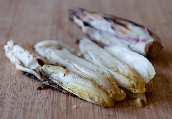 grilled endive