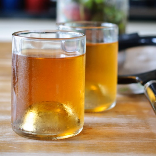 Peach Infused Water | Healthy Green Kitchen