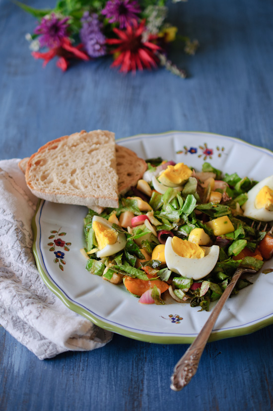 Homegrown Salad   Healthy Green Kitchen