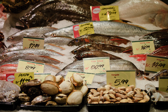 Fish at Vivanda market // Healthy Green Kitchen