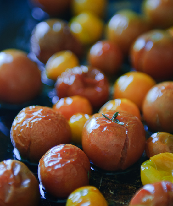 cherry tomatoes roasted