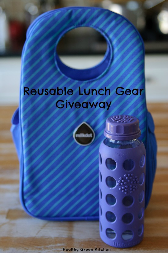 reusable lunch gear giveaway from www.healthygreenkitchen.com