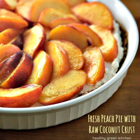 Peach Pie | Healthy Green Kitchen
