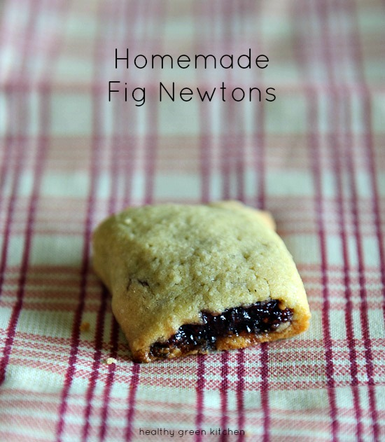 Homemade Fig Newtons | Healthy Green Kitchen