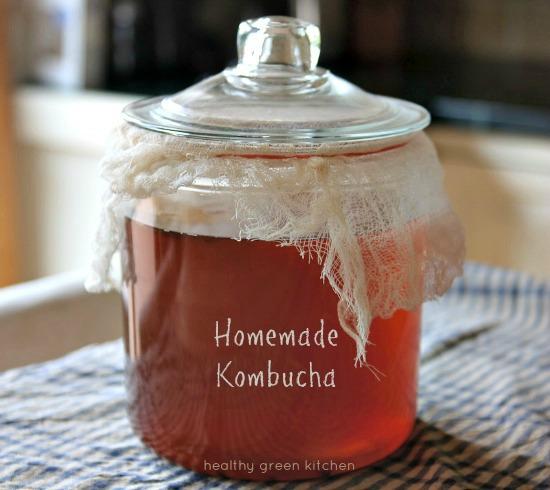 Homemade Kombucha | Healthy Green Kitchen