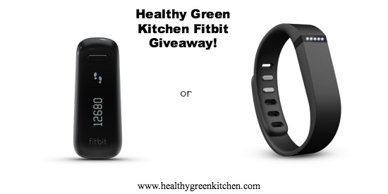 Fitbit Giveaway | Healthy Green Kitchen