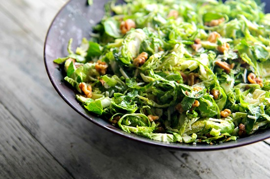 Brussels sprouts salad | Healthy Green Kitchen