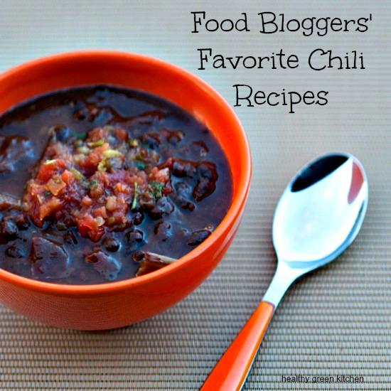 Healthy Green Kitchen Chili Recipe Round Up