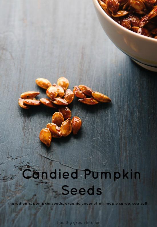 Candied Pumpkin Seeds | Healthy Green Kitchen