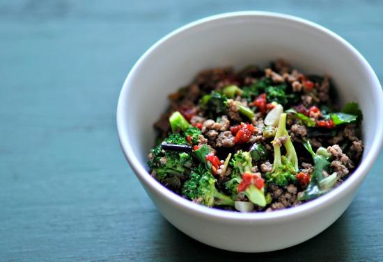 Lamb and Broccoli Stir Fry