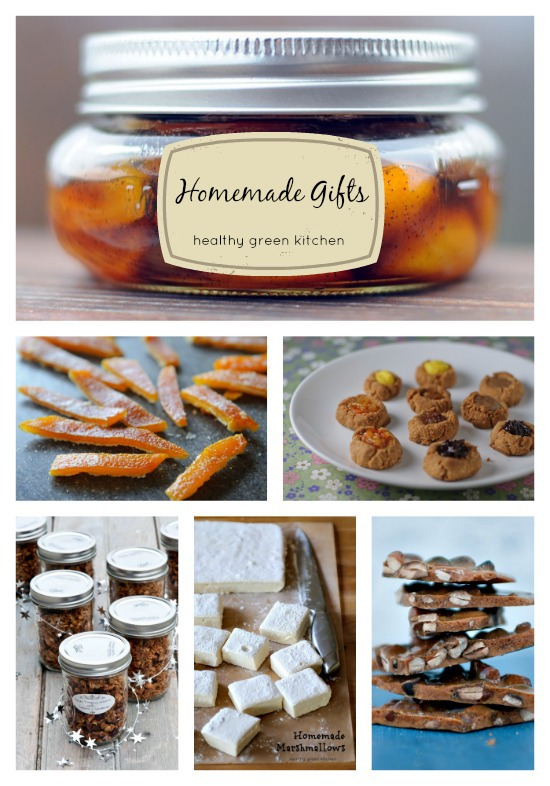 homemade gift ideas | www.healthygreenkitchen.com