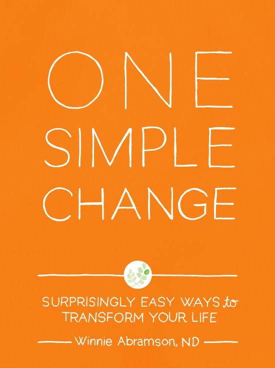 One Simple Change   Healthy Green Kitchen