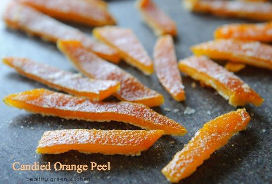 candied orange peels | www.healthygreenkitchen.com
