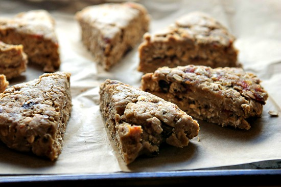orange date scone recipe   healthy green kitchen