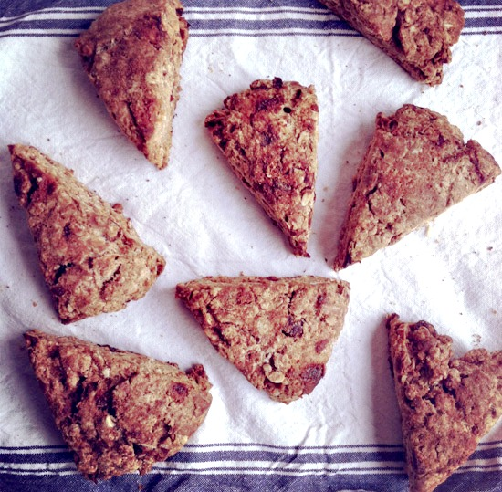 orange date scone recipe | healthy green kitchen