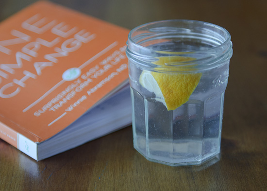 Water First Thing from One Simple Change   Healthy Green Kitchen