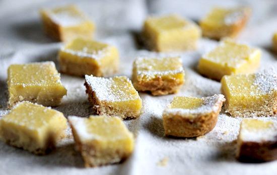 meyer lemon ricotta bars | www.healthygreenkitchen.com