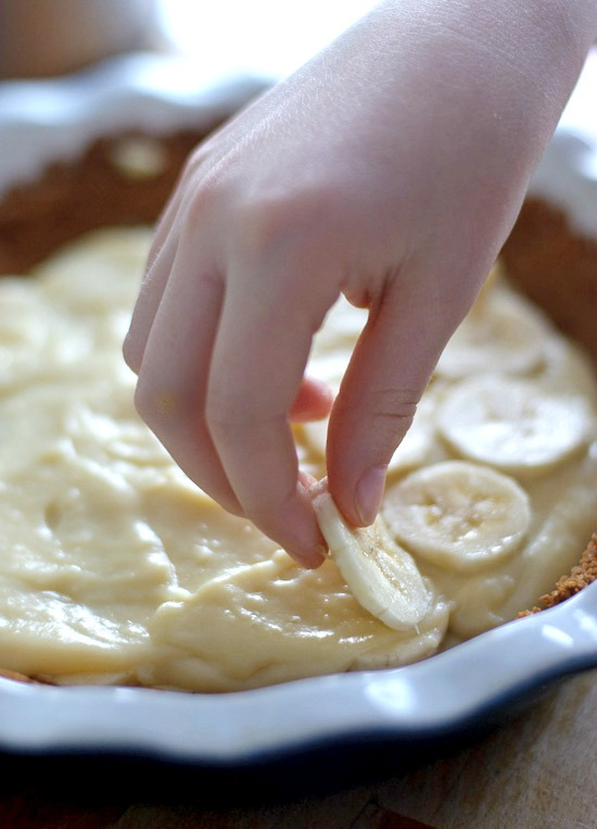 banana cream pie | healthy green kitchen