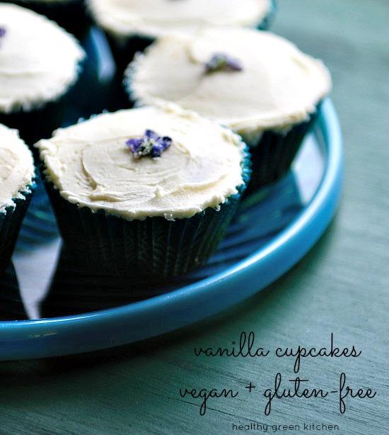 vegan cupcakes | healthy green kitchen