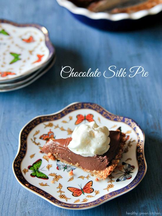 Chocolate Silk Pie | Healthy Green Kitchen