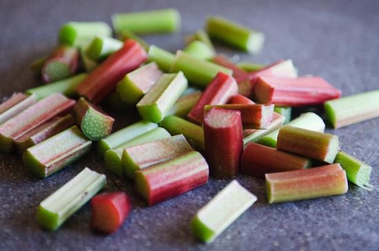 cut rhubarb | healthy green kitchen