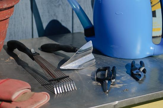 tools close up