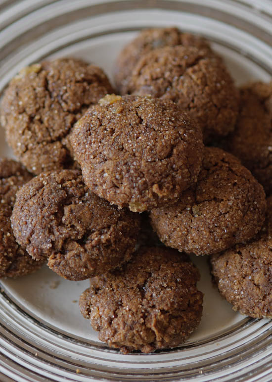ginger cookies vertical