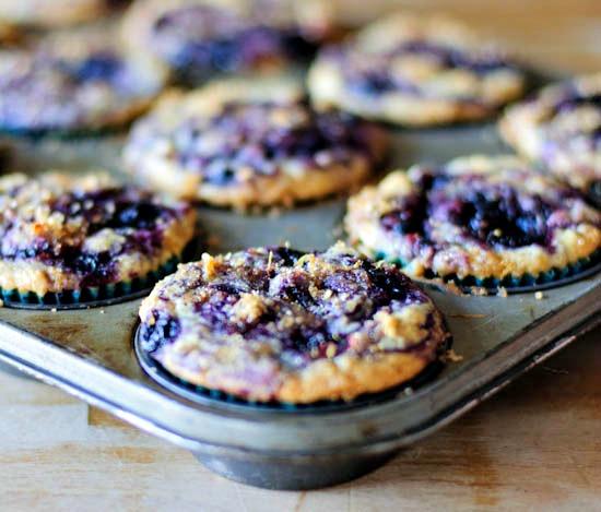 blueberry swirl muffins | healthy green kitchen