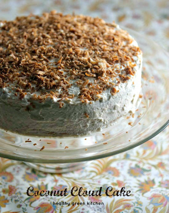 coconut cloud cake | healthy green kitchen
