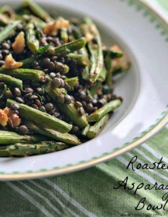 Sara's Roasted Asparagus Bowl