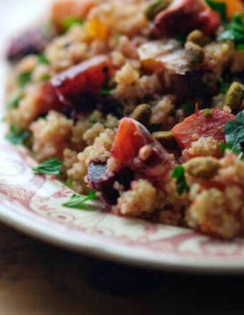 Quinoa Salad with Beets + Oranges